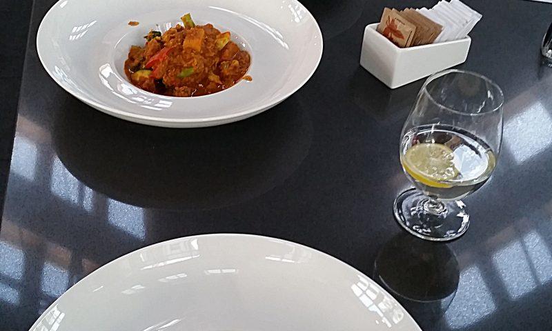 Danie główne - warzywa curry