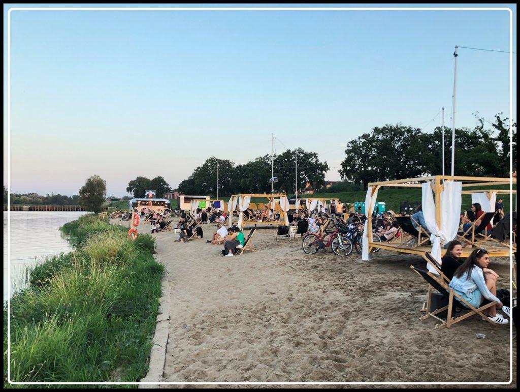 Beach bary we Wrocławiu / Wrocław Kobiecym Okiem / Prosto z Mostu Beach Bar