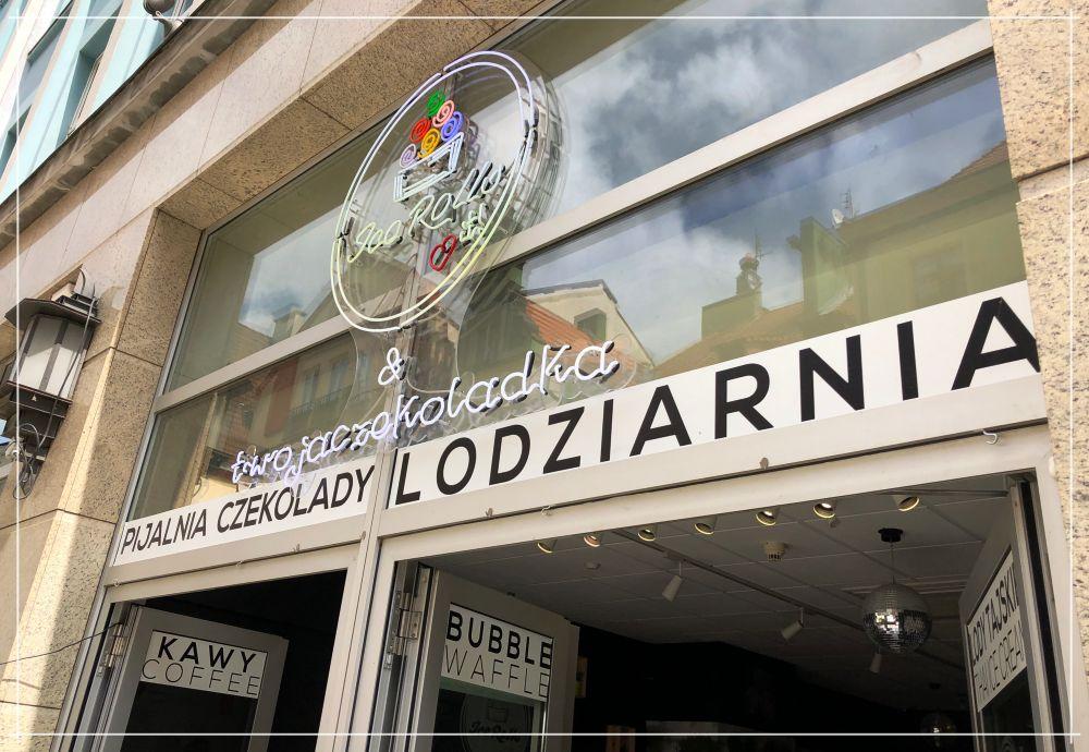 Lody we Wrocławiu / Ice Rolls Twoja czekoladka / Wrocław Kobiecym Okiem