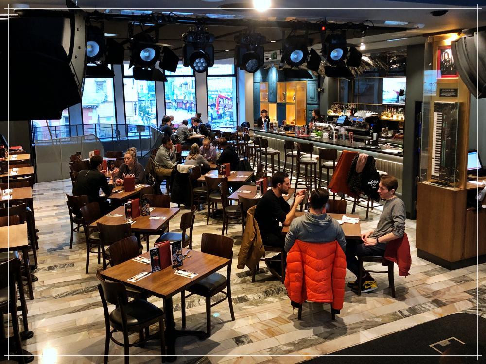 Hard Rock Cafe / Wrocław Kobiecym Okiem