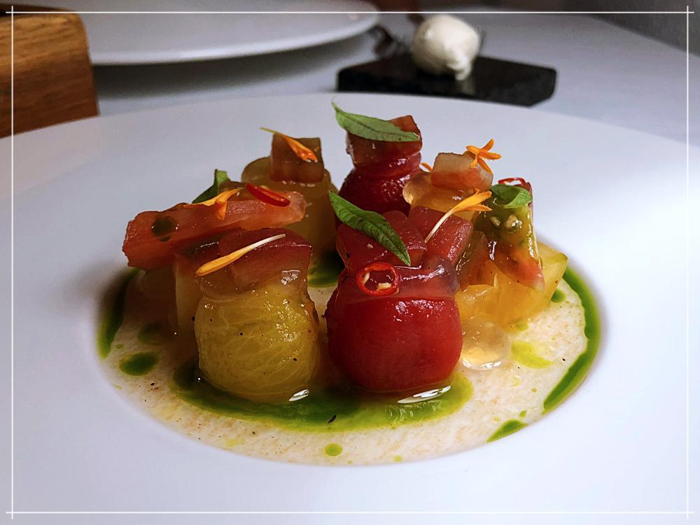 Fine Dining Week - Mennicza Fusion - Pomidory i nerkowce