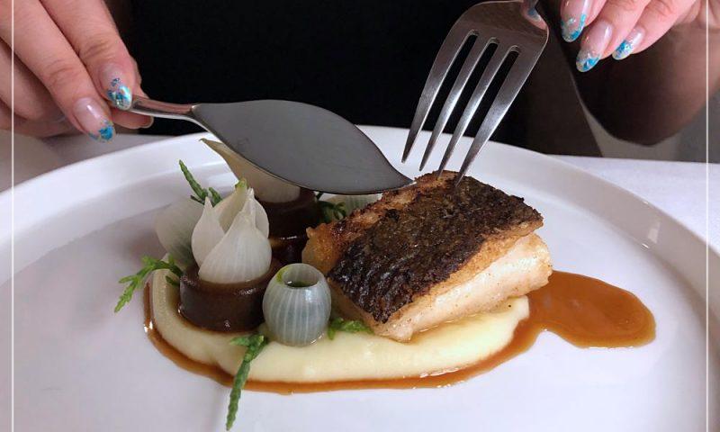 Fine Dining Week - Mennicza Fusion - halibut i ponzu